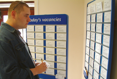 Jobseekers are encouraged to volunteer