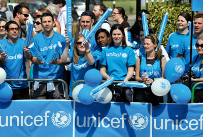 Unicef was among the big winners at the IoF Convention Awards
