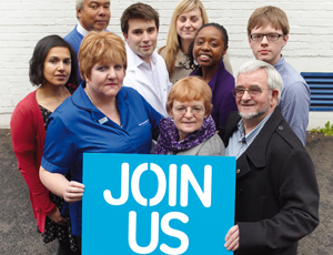 Parkinson's UK volunteers