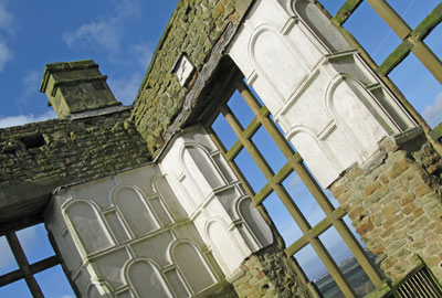 Hardwick Old Hall, Derbyshire, owned by English Heritage