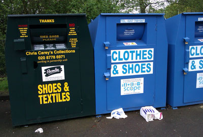 Scope clothing bank