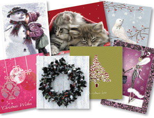 Christmas cards sales fall