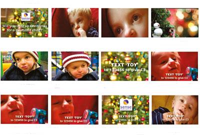Sense's Christmas text campaign