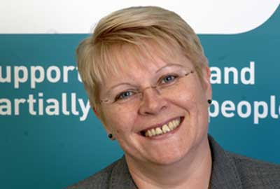 Lesley-Anne Alexander, chief executive of the RNIB
