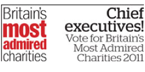 Britain's Most Admired Charities 2011