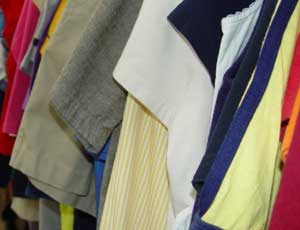 Clothing collections under scrutiny