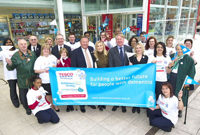 Tesco's partnership with the Alzheimer's Society