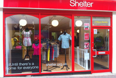 A Shelter shop in Ashford that opened earlier this year