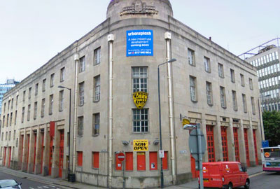 The Old Fire Station, Bristol: venue for the public meeting