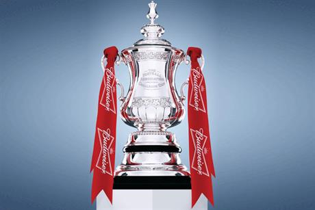 Budweiser: title sponsor of The FA Cup