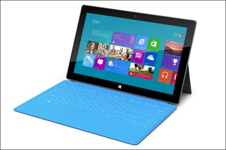 Microsoft: unveils its Surface range of devices