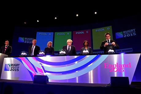 Rugby World Cup 2015: the pool allocation draw was held in London last month