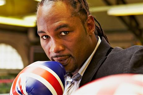 Lennox Lewis: boxer stars in VisitBritain campaign