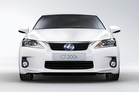 Lexus: launches CT 200H model at Harrods