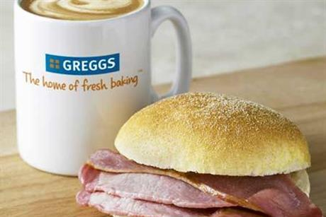 Greggs: tests motorway service-station market