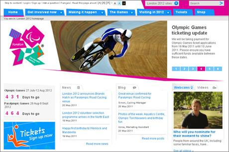 Locog: offers sponsors digital properties