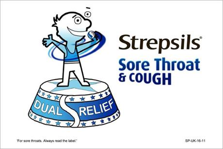 Strepsils: Reckitt Benckiser ploughs £4.5m into the launch of Sore Throat and Cough