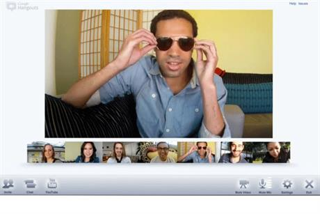 Google+ Hangouts: video calling with up to 10 friends