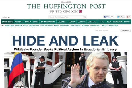The Huffington Post: underwhelming first year in the UK