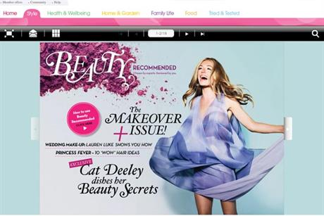 Procter & Gamble: unveils Beauty Recommended e-zine