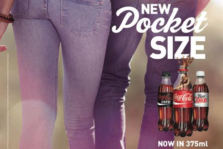 Coca-Cola: unveils 375ml bottle size