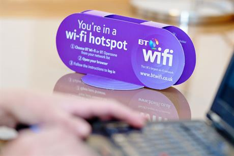 BT Wi-Fi: simplifies service