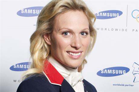 Zara Phillips: Samsung Olympic ambassador