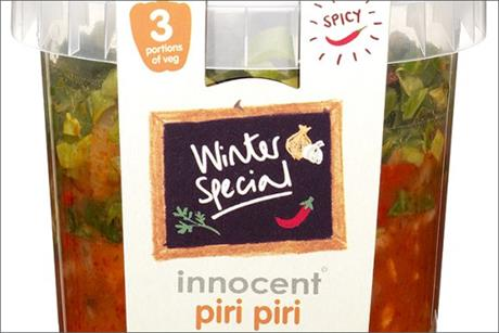 Innocent: re-launches Veg Pots