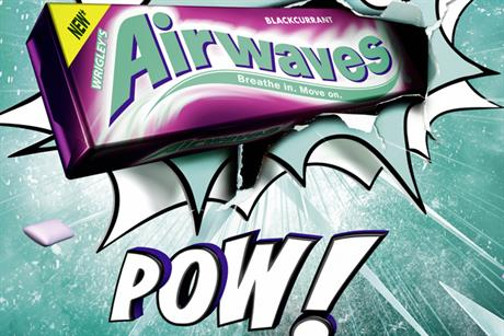 Wrigley's Airwaves: repositions for brand-led approach with Pow! campaign