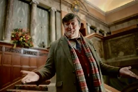 VisitEngland: tourist body's recent campaign starred Stephen Fry