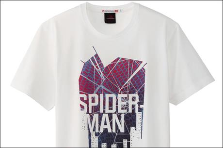 Uniqlo: teams up with Sony Pictures to launch T-shirt range