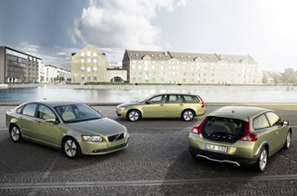 Volvo campaign stresses low emissions and high style