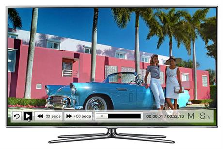 Marks & Spencer: creates its own app for Samsung Smart TVs.
