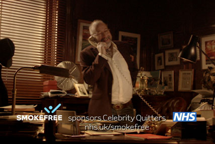 NHS Smokefree: Celebrity Quitters ident