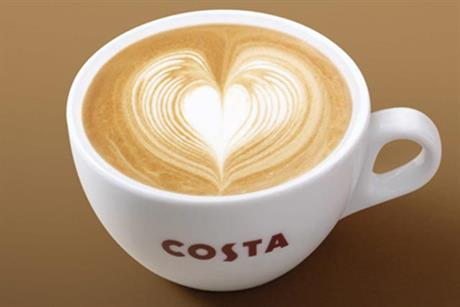 Costa Coffee: now UK's third-biggest food and drink chain says Whitbread