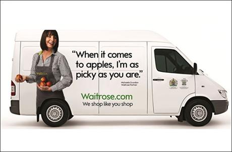 Waitrose.com: benefitting from delivering within the M25