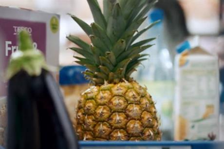 Tesco: talking pineapple ad promotes Price Promise scheme