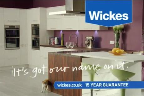 Wickes: second highest share of voice