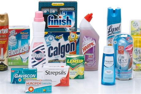 Reckitt Benckiser: increased adspend