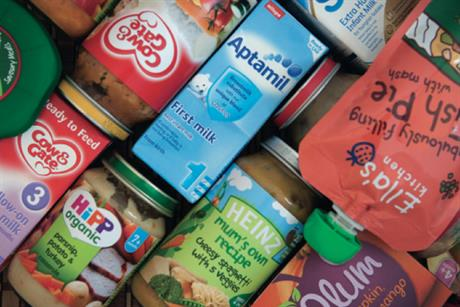 Heinz remains market leader with £55m sales in babyfood and finger-food
