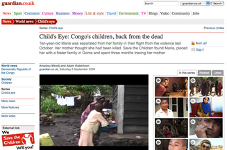 Save the Children links with The Guardian to produce series of online films