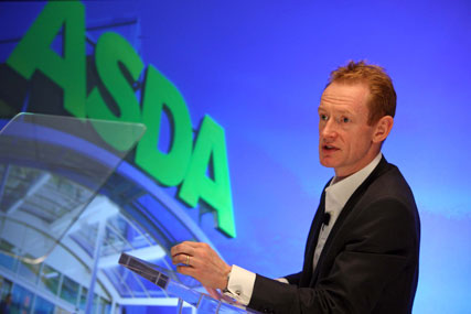 Andy Bond: stepping down as chief executive at Asda