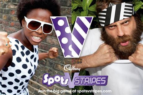 Cadbury: 'spots v stripes' campaign
