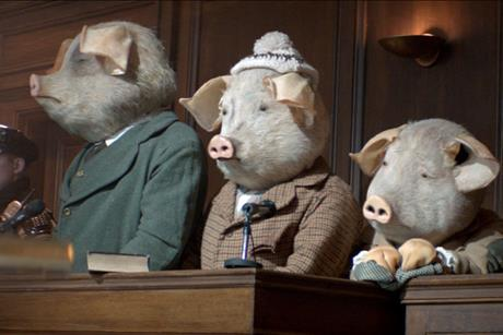 The Guardian's take on the 'three little pigs'