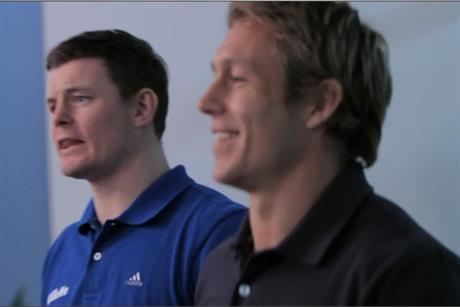 Gillette: Brian O' Driscoll and Jonny Wilkinson star in latest ad