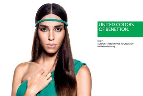 Lea T: one of Benetton's new ambassadors