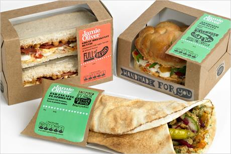 Boots: rolls out Jamie Oliver sandwich range