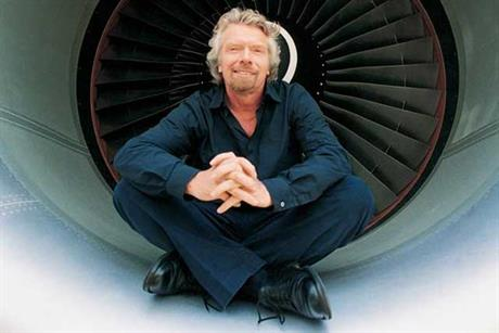 Sir Richard Branson: says Virgin Atlantic brand is here to stay