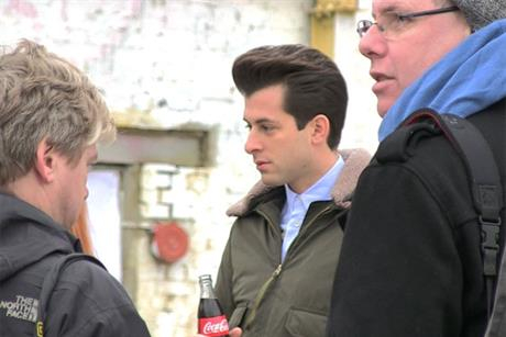 Mark Ronson: stars in Coca-Cola Olympic ad