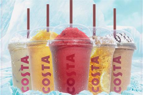 Costa Coffee: summer ad push